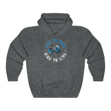 Load image into Gallery viewer, Live To Ride Hooded Sweatshirt