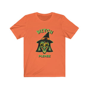 Witch Please Halloween Short Sleeve Tee