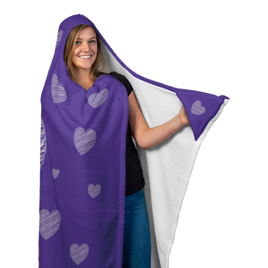 Love Yourself Hooded Blanket