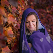 Load image into Gallery viewer, Love Yourself Hooded Blanket