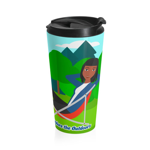Explore the Outdoors Women's Stainless Steel Travel Mug