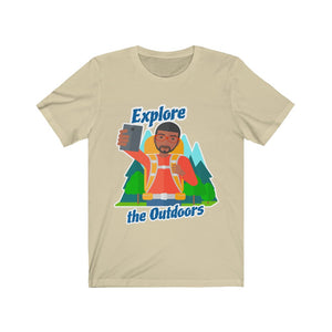 Explore the Outdoors Men's Selfie Tee