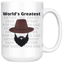 Load image into Gallery viewer, World's Greatest Father Full Beard