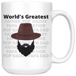 World's Greatest Father Full Beard