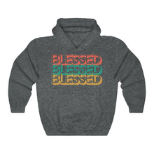 Load image into Gallery viewer, Blessed Hooded Sweatshirt