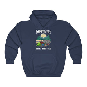 Family Camping Hooded Sweatshirt