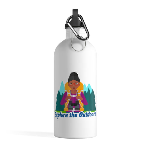Explore the Outdoors Women's Stainless Steel Water Bottle