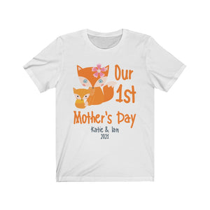 Our 1st Mother's Day (Fox) Short Sleeve Tee