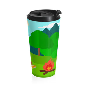 Explore the Outdoors Men's Stainless Steel Travel Mug
