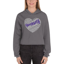 Load image into Gallery viewer, Love Yourself Crop Hoodie