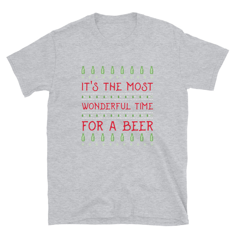 Most Wonderful Time For Beer T-Shirt