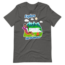 Load image into Gallery viewer, Mens Explore the Outdoors Short-Sleeve T-Shirt