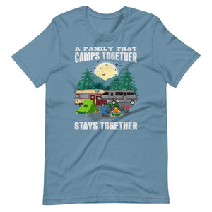 A Family That Camps Together Short-Sleeve Unisex T-Shirt