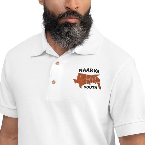 NAARVA South Embroidered Polo Shirt