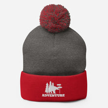 Load image into Gallery viewer, Adventure Pom-Pom Beanie