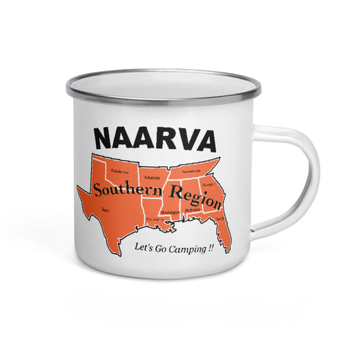 NAARVA South Enamel Mug