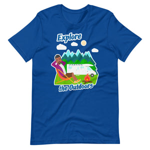 Mens Explore the Outdoors Short-Sleeve T-Shirt