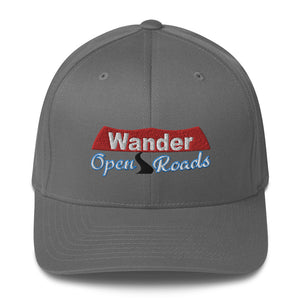 Wander Open Roads Structured Twill Cap