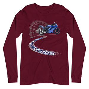 Faster Than You Can Count Long Sleeve Tee