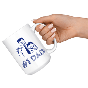 Number 1 Dad, Best Dad Mug