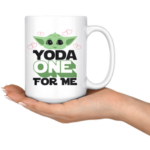 Load image into Gallery viewer, Yoda Valentines Mug