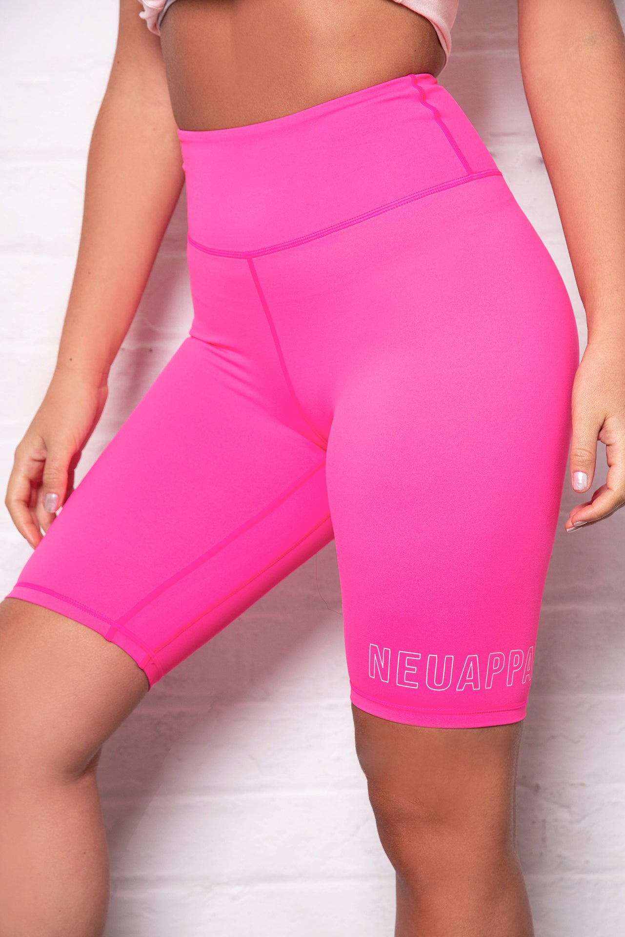 Barbie Neon Pink Athena Cycling Shorts