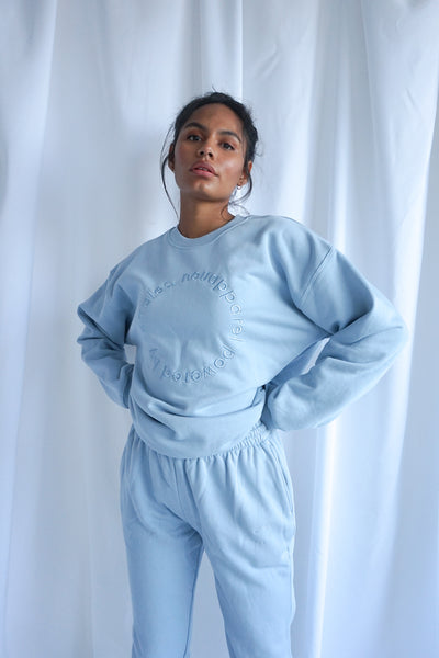 Premium Heavyweight Sweatshirt Scandi Blue