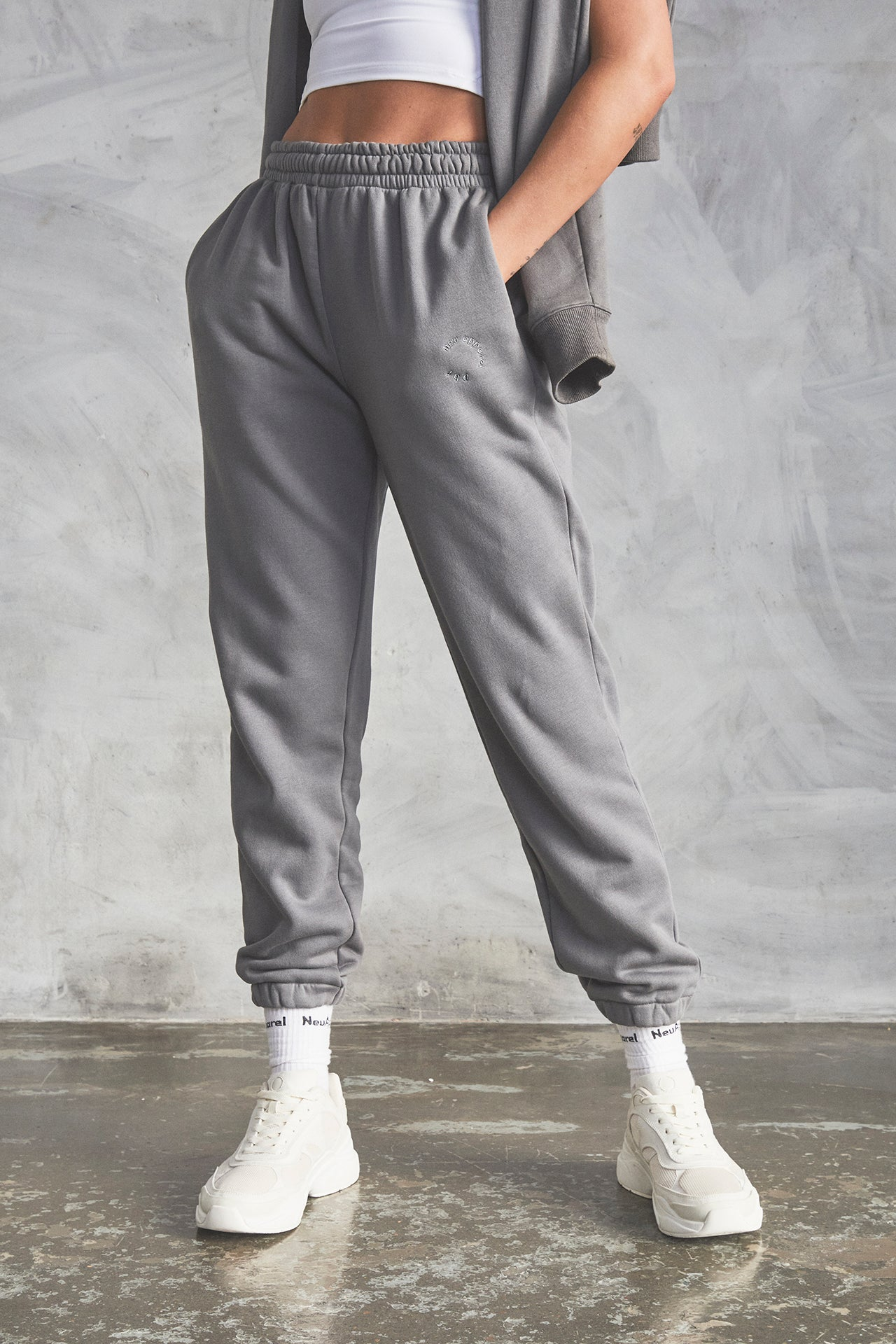 Premium Heavyweight Sweatpants - Slate Grey