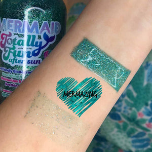 Mermaid Totally Fun Biodegradable Glitter After Sun 6 oz.