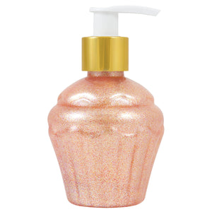 Birthday Everyday Party Cake Scented Pink Glitter Body Gel 6 oz.