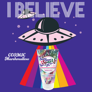 Cosmic Stardust | Glitter Sunscreen | Iridescent | SPF50+ | 4 oz.