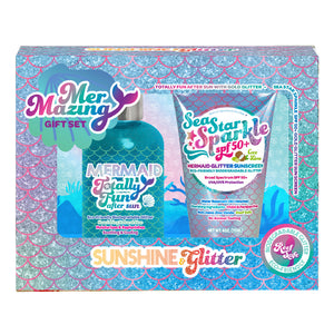 Mermazing Biodegradable Glitter Gift Set
