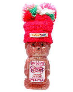 Beary Merry Pink Glitter Moisturizing Body Gel