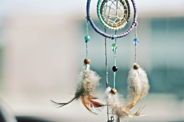 Beautiful Dreamcatcher with peacock feathers