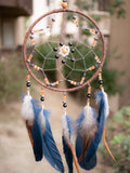 Blue and brown dreamcatcher