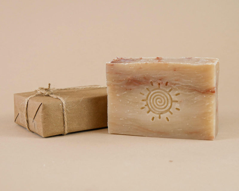 Cherry Almond Aloe Shampoo Bar - Hippie Shampoo
