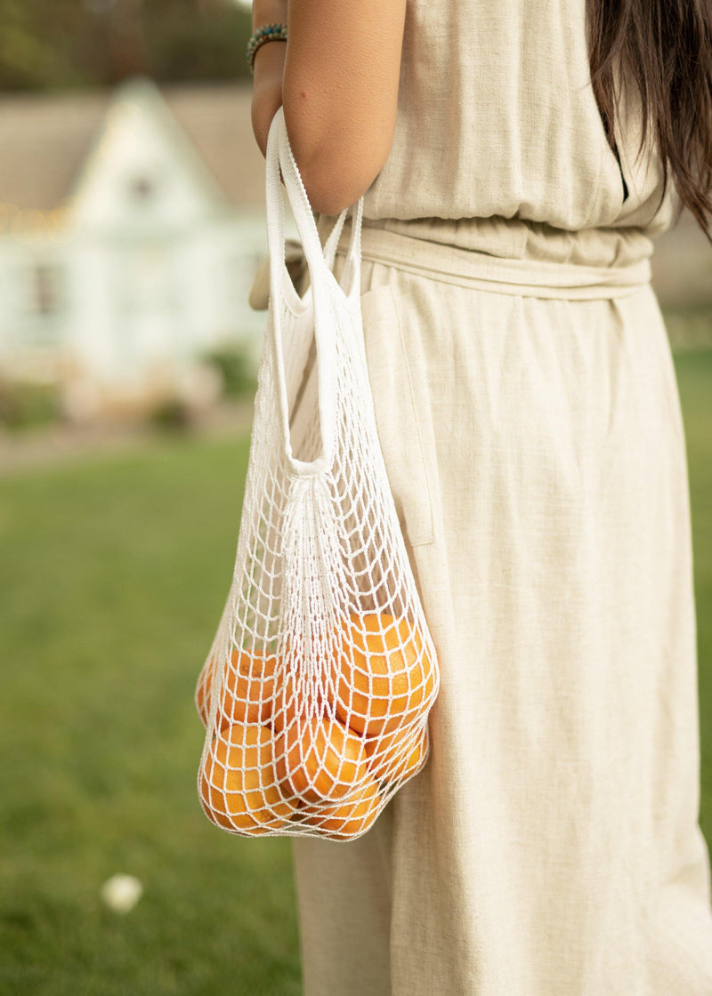 Agate Reusable Grocery Bag - Reusable Produce Bag - Reusable Shopping Bag - Biodegradable Bag - Foldable Bags
