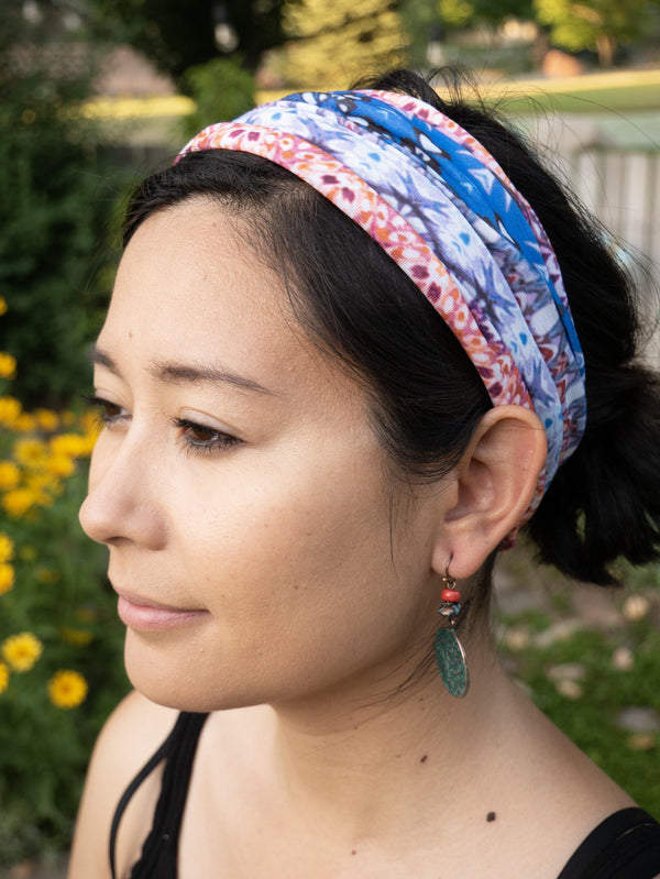 Reflections Multifunctional Headband - Hippie Headband - Breathable Face Mask - Neck Gaitor