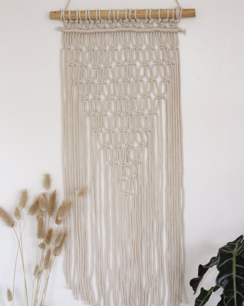 Harmony Geometric Cotton Large & Long Macrame Wall Hanging Hippie Wall Tapestry