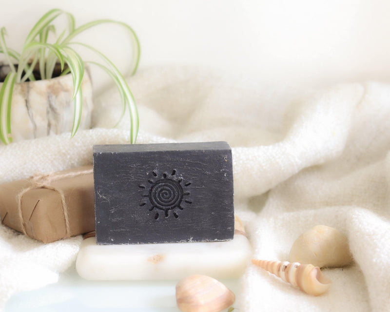 Into The Woods Charcoal Soap - Organic Soap Bar - Vegan Soap Bar - Handmade Soap Bar - Essential Oil Soap