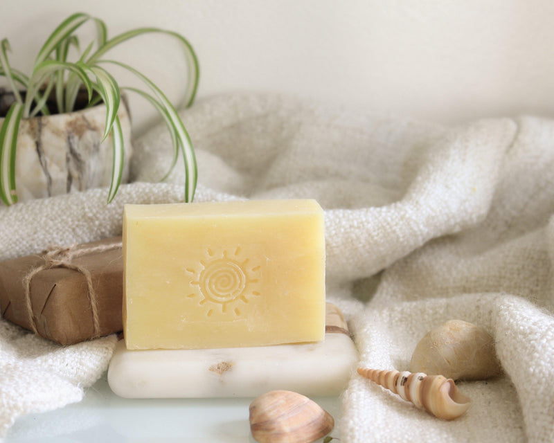 Citrus Cedar Sage Organic Soap Bar - Vegan Soap Bar - Homemade Soap Bar - Handmade Soap Bar