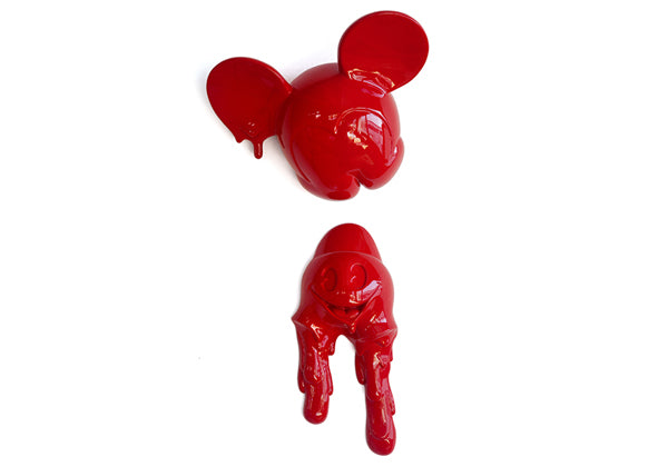 MELTING FREAKY MOUSE - RED
