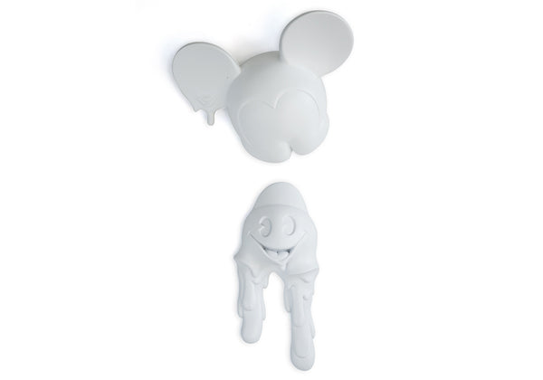 MELTING FREAKY MOUSE - MATTE WHITE