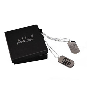 Rebel Nell x Mo Bamba Dog Tags