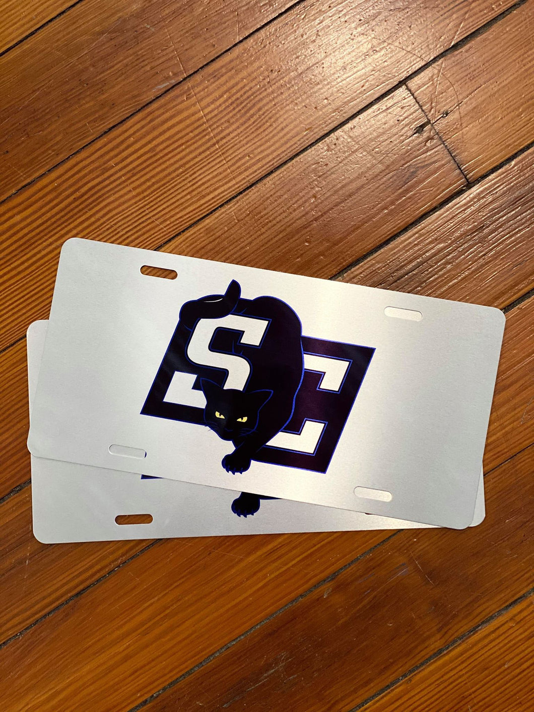 New SC Jinx Metal License Plate