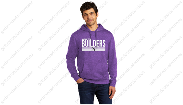 Builders Stripes District® V.I.T.™ Fleece Hoodie