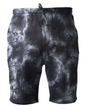Load image into Gallery viewer, The Jinx Tie Dye Fleece Shorts