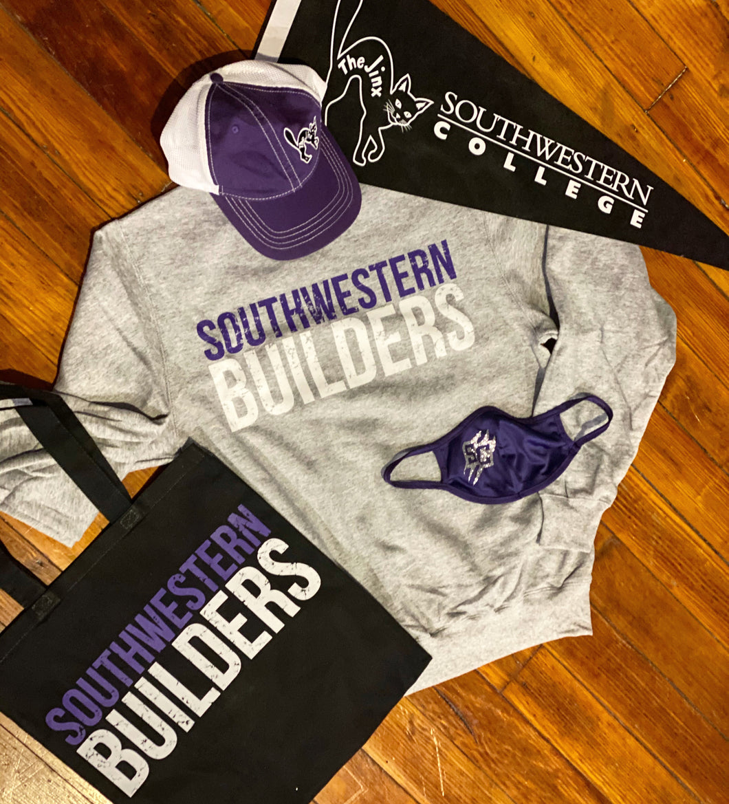 Southwestern Builders Distress Crew Sweatshirt