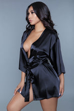 Load image into Gallery viewer, On Your Mind Satin Robe