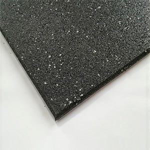 Commercial Rubber Gym Flooring - 15mm (Grey Speckle)